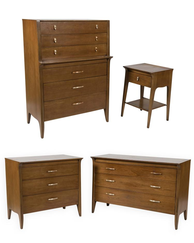 Four Piece Drexel Profile Bedroom Set
