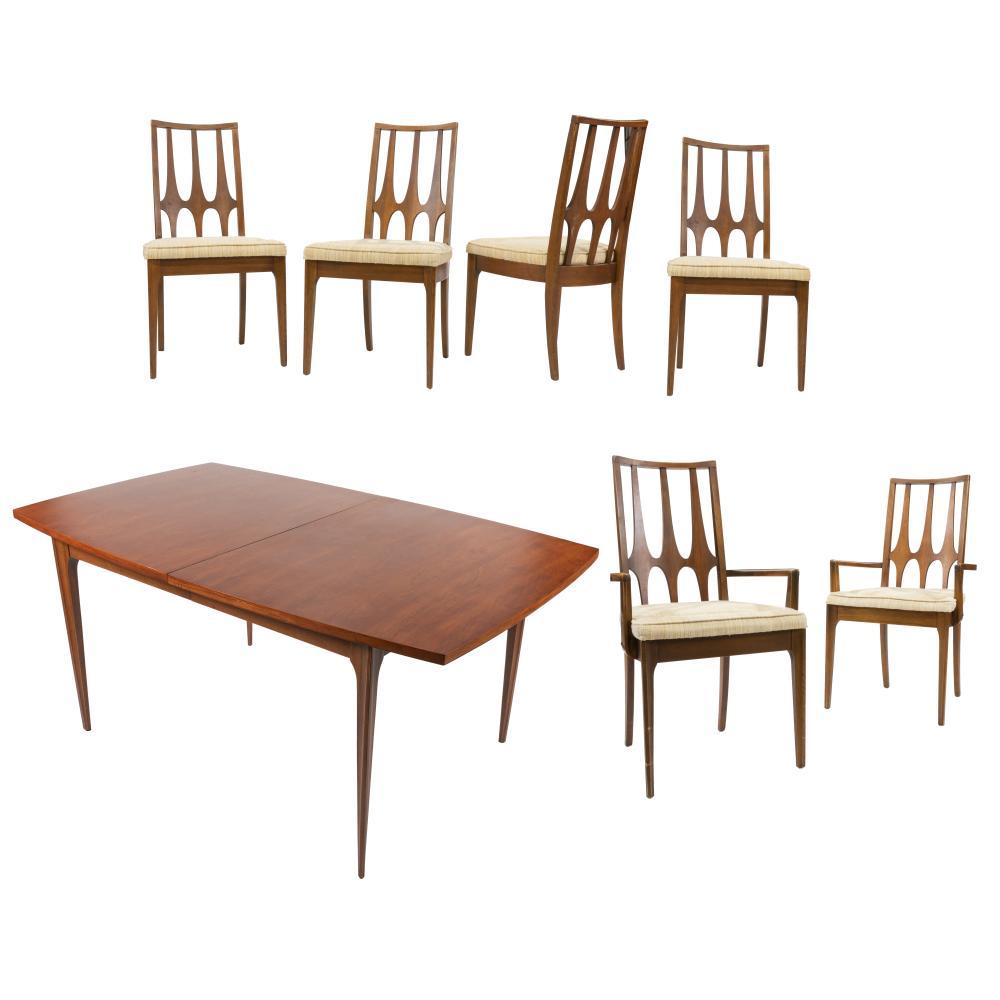 Astounding Broyhill Brasilia Dining Table 6 Chairs Uwap Interior Chair Design Uwaporg