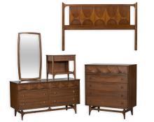 Five Piece Broyhill Brasilia Bedroom Set