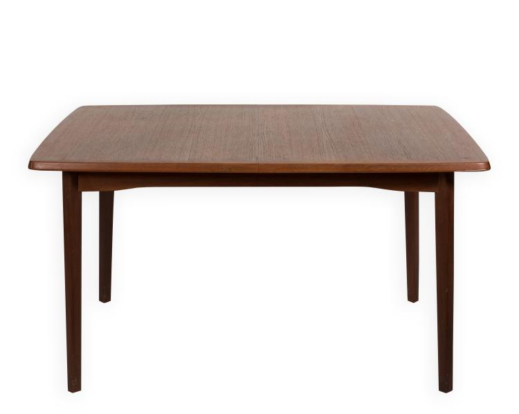 danish teak dining room table