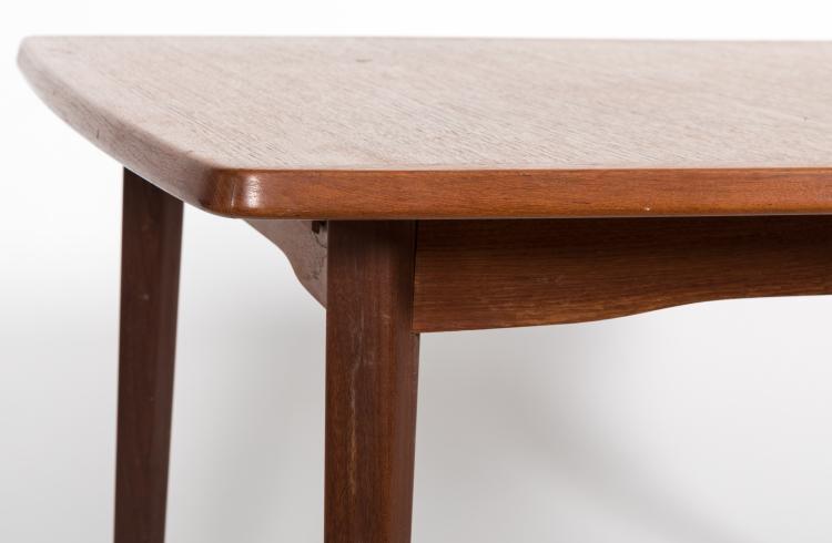 lot 134 danish teak dining room table
