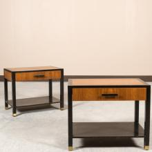 Pair Nightstands - Attributed to Harvey Probber