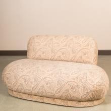 Mid Century Love Seat - After Milo Baughman