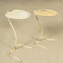 Pair Salterini Lily Pad Side Tables