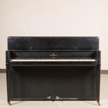 Steinway and Sons Black Lacquer Upright Piano