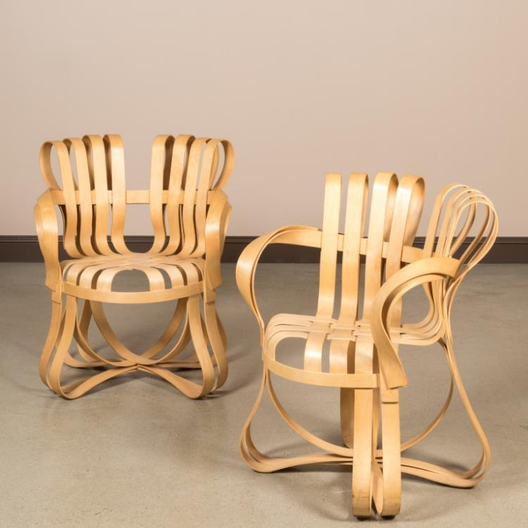 Frank Gehry for Knoll Cross Check Chairs