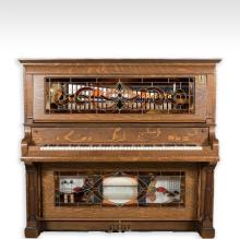 Hobart Oak Coin-Op Player Piano