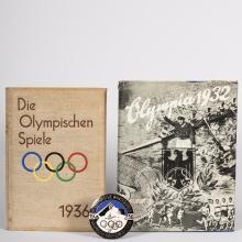 Group German Olympic Memorabilia - 1932 & 1936
