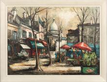 Julien Porisse - Oil on Canvas - Signed