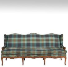 French Style Wingback Sofa