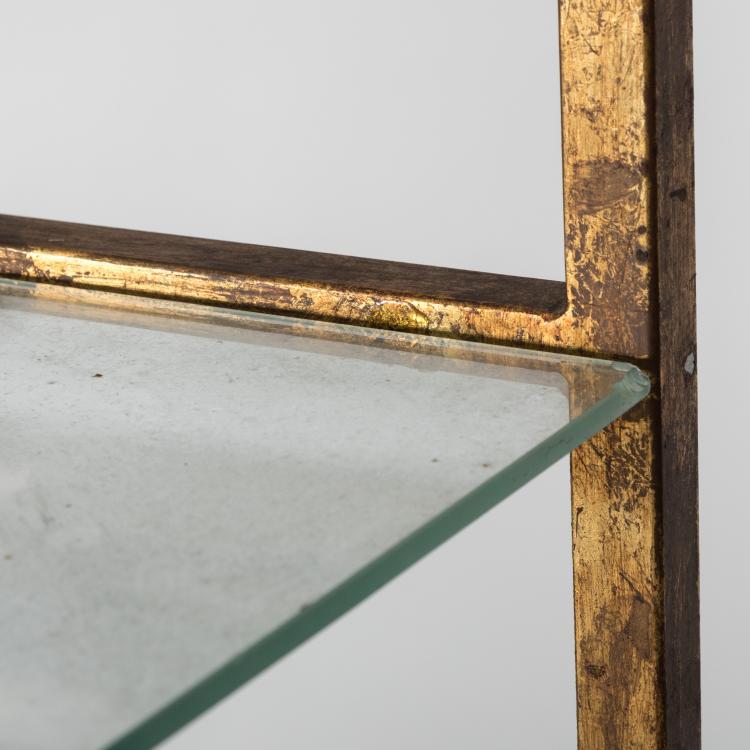 Gilt metal etagere - Etagere modulable metal ...