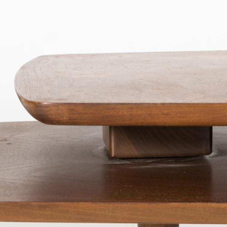 Lane coffee table with swinging extension for Coffee table extension
