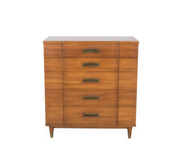 John widdicomb highboy dresser for Furniture auctions uk