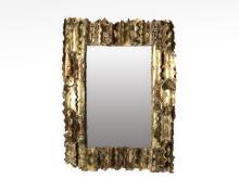 Brutalist Style Mirror