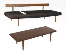 American of Martinsville Table and Sofa/Daybed