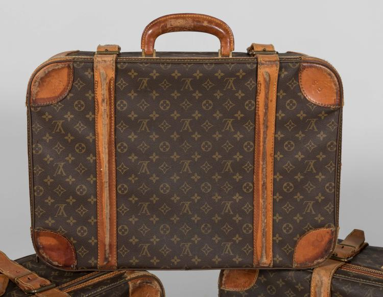 Louis Vuitton Three Sofa Suitcases