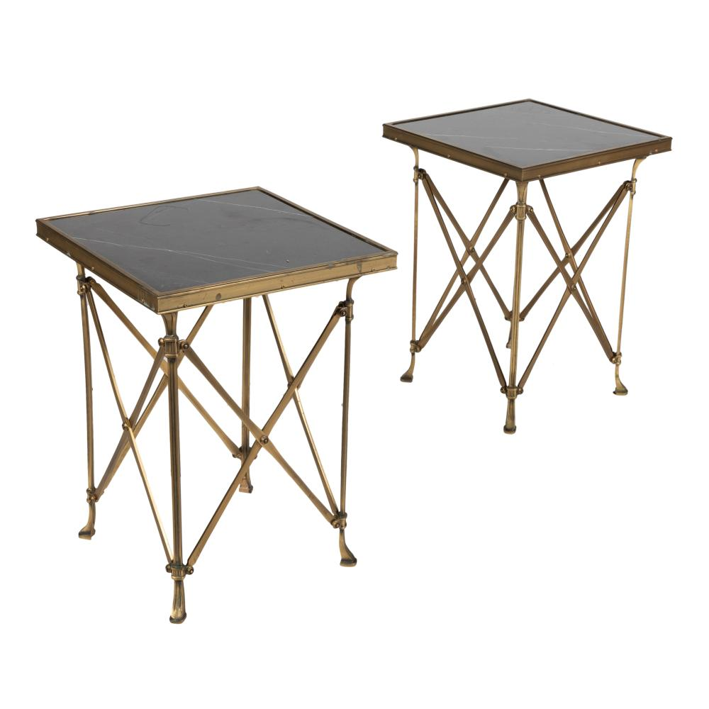 Marble & Brass - End Tables