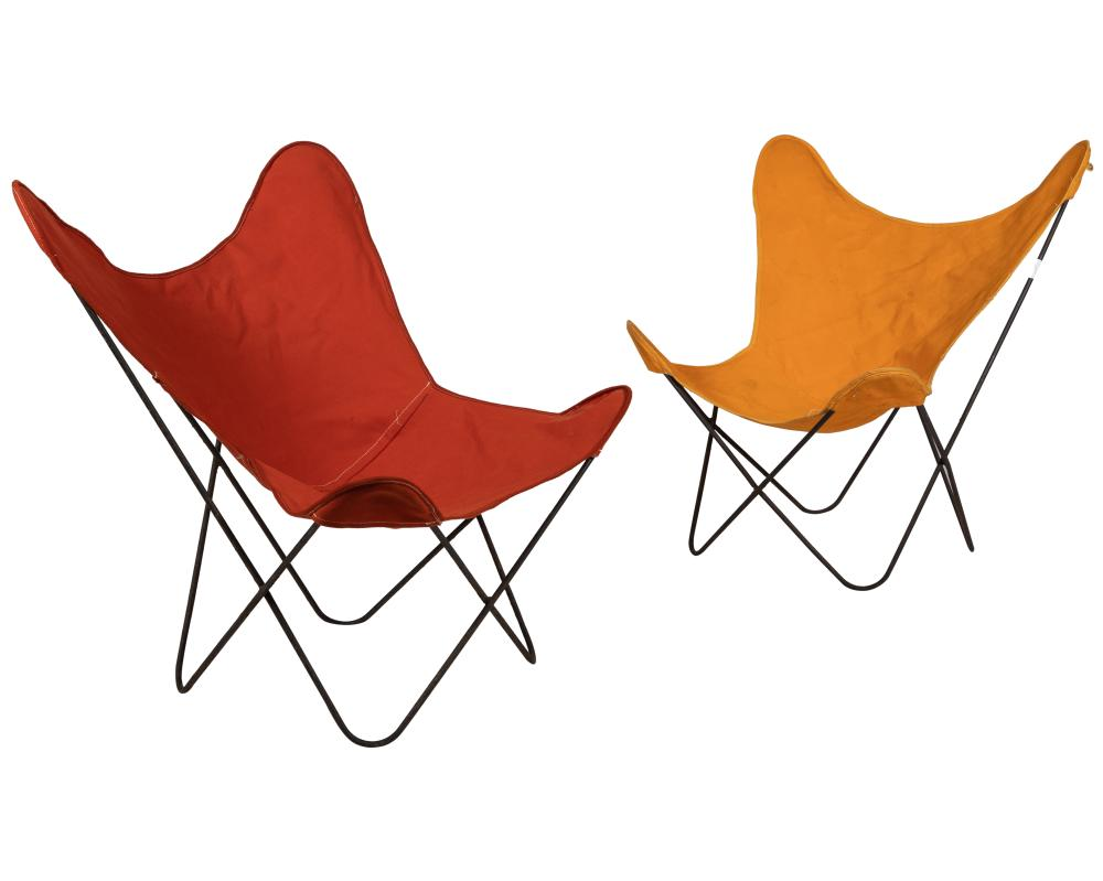 Butterfly Chairs - Pair