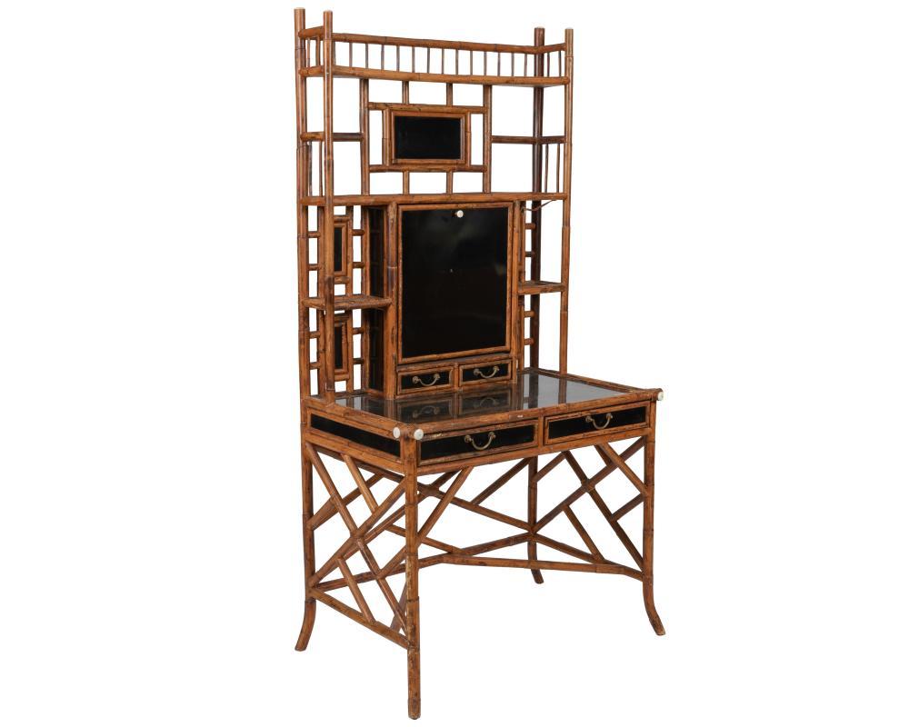 Bamboo Secreatary Desk