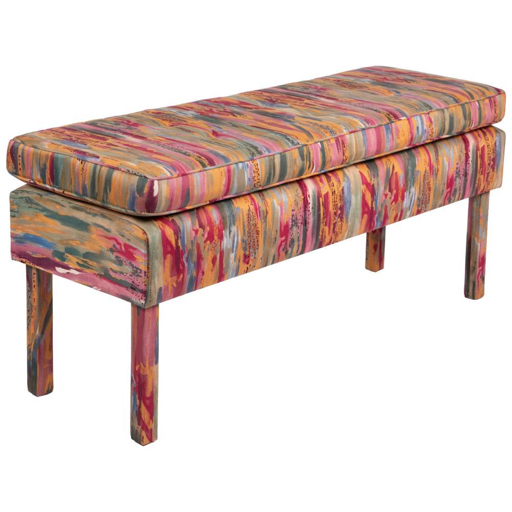 Milo Baughman - Upholstered Bench