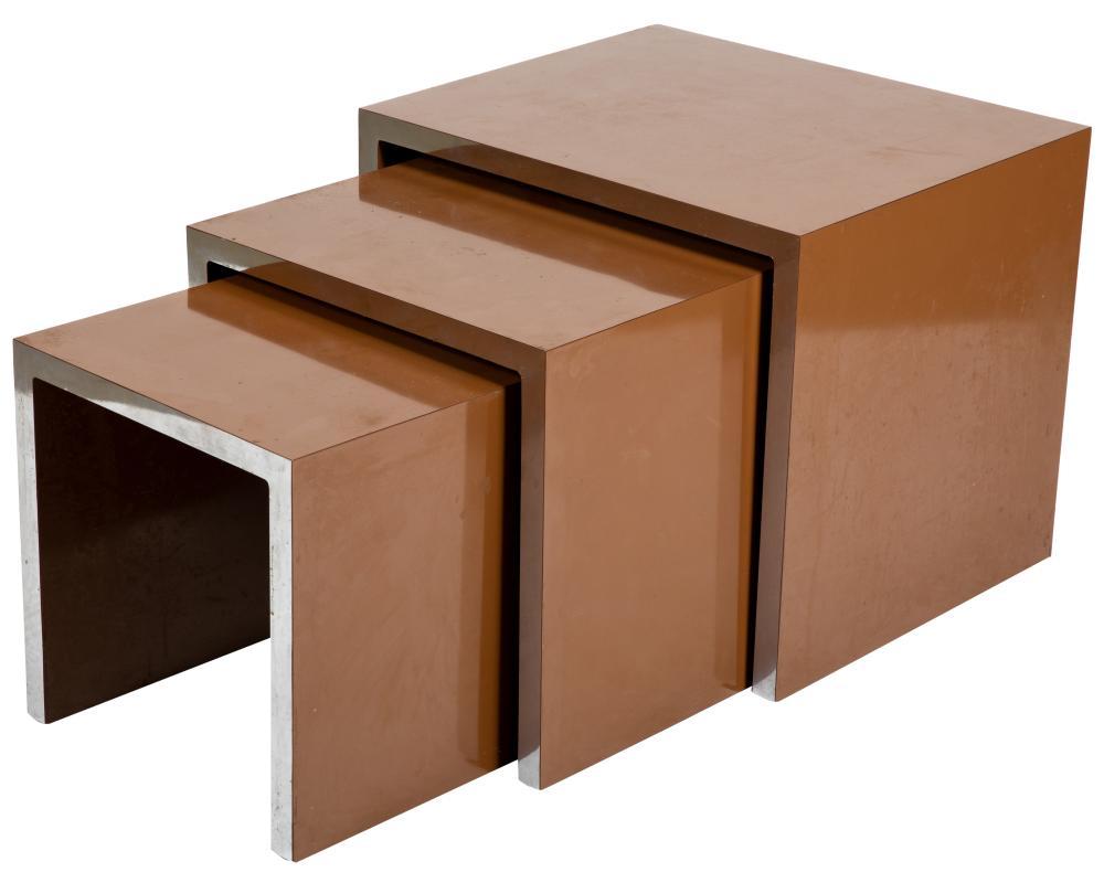 Milo Baughman Style - Nesting Tables