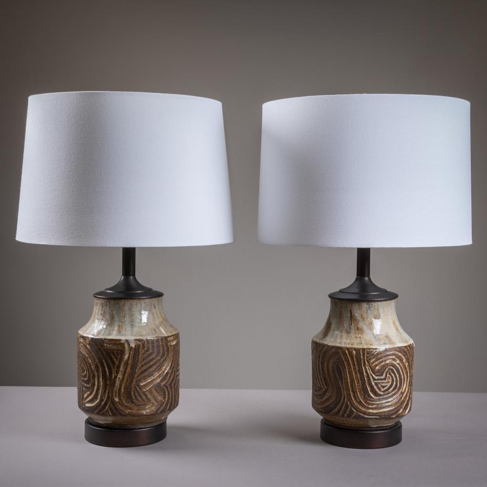 Design Technics - Pottery Lamps