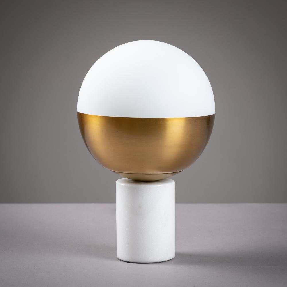 Modern - Round Marble Base - Lamp