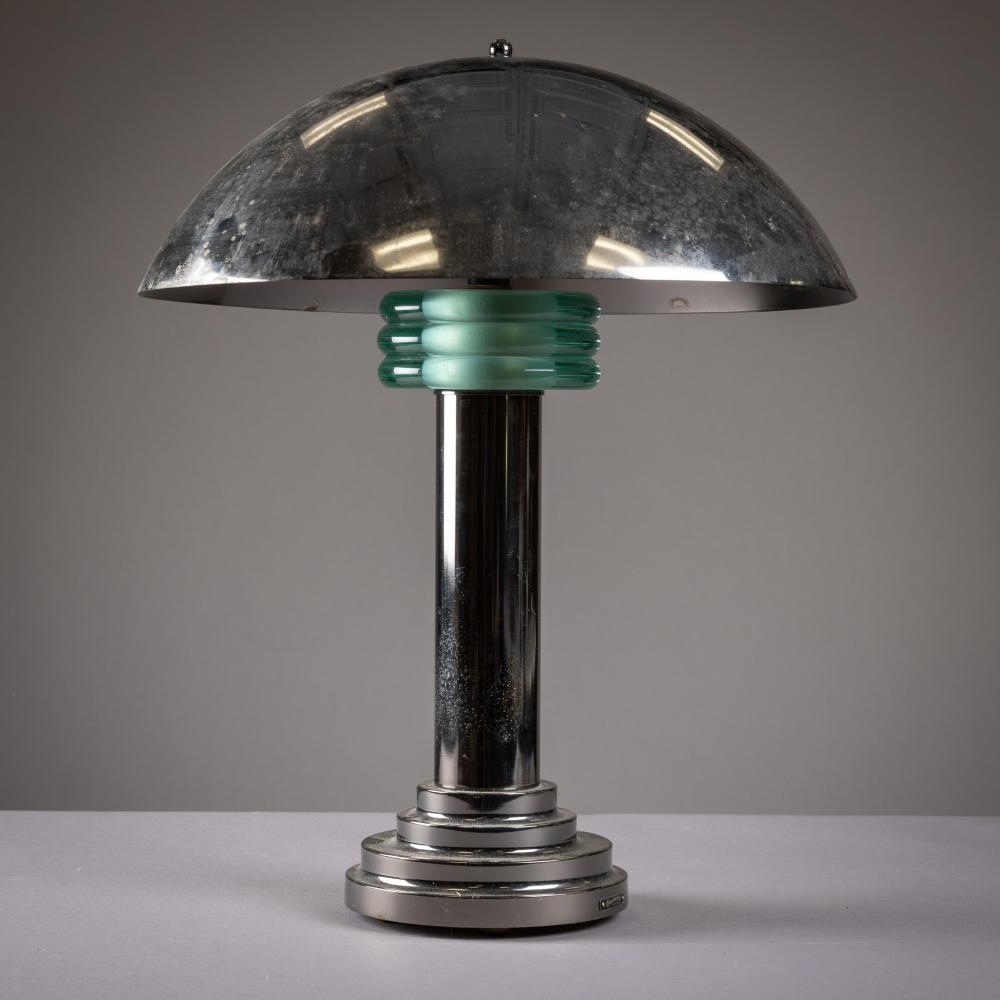 Casablanca - Deco Style & Mid Century Chrome Lamp