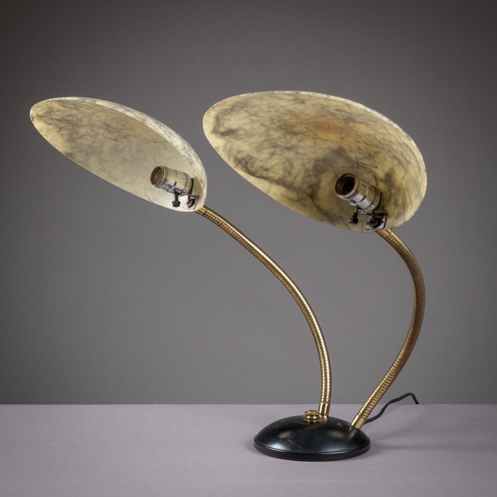 Greta Grossman (Attr.) - Gooseneck Cobra Lamp