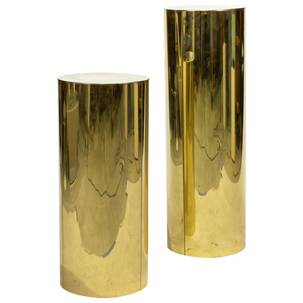 Curtis Jere - Brass Pedestals - Signed