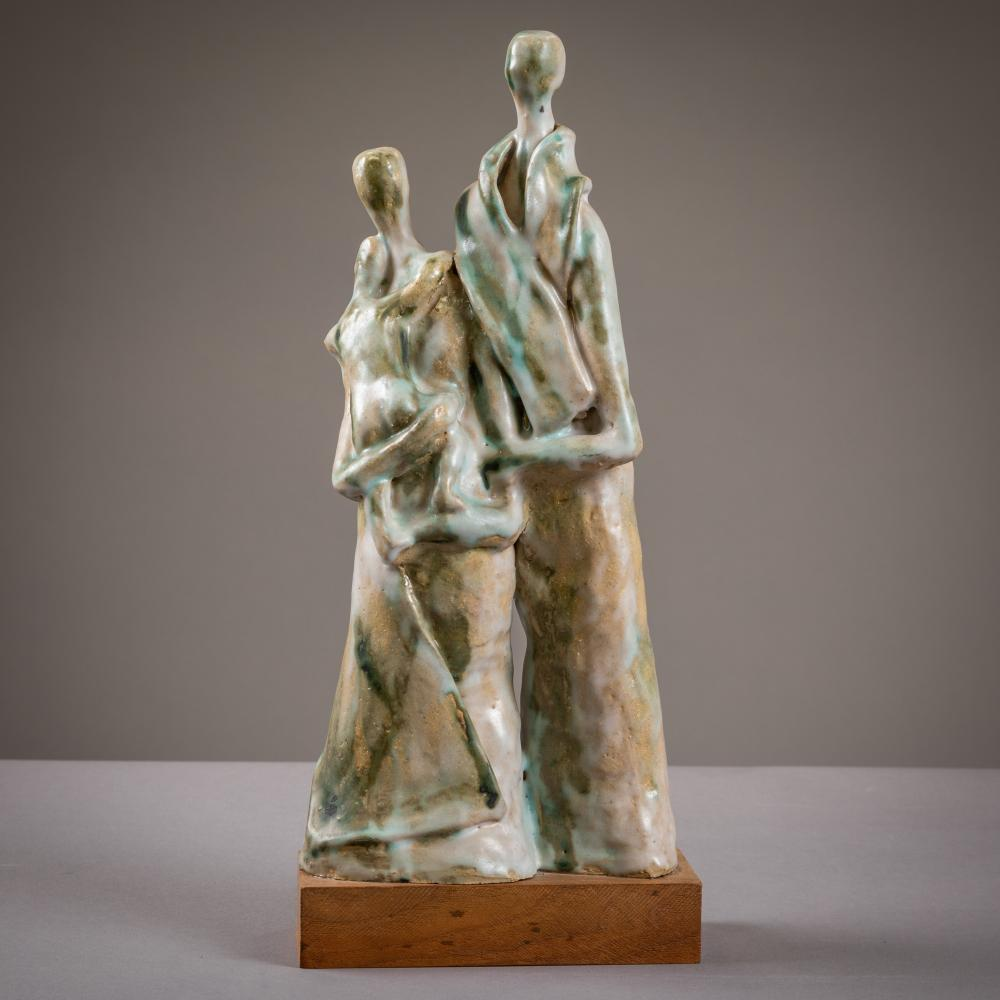 Evelyn Wilson - Figural Pottery Sculpture