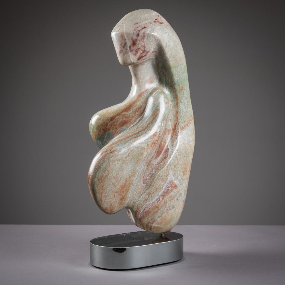 Freeform Marble Sculpture