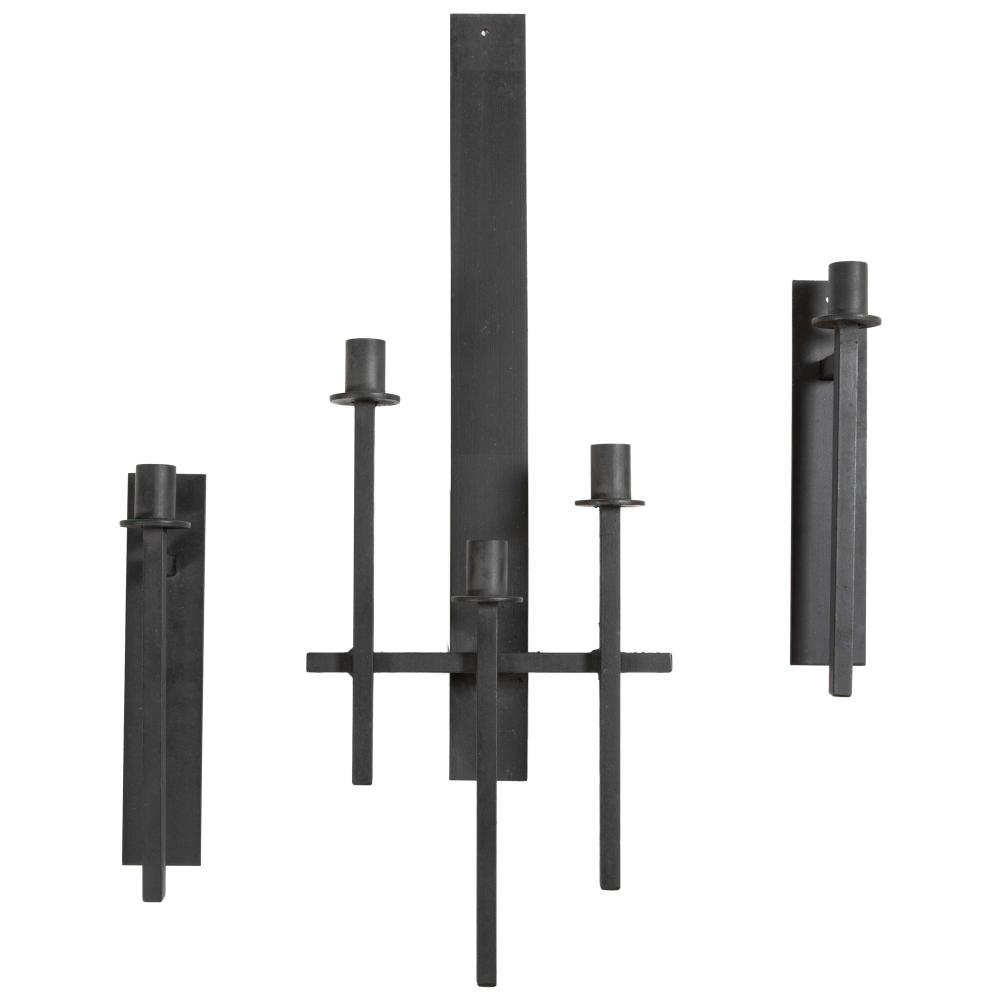 Van Keppel - Wrought Iron Candle Sconces