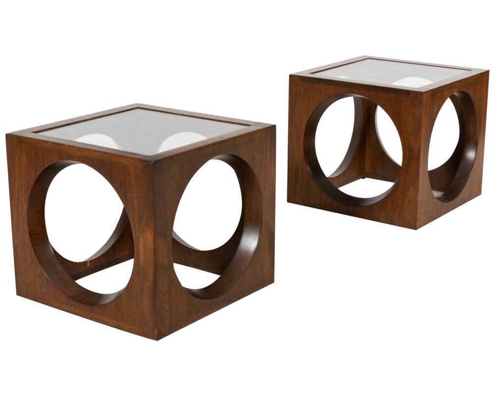 Mid Century Modern Cube Tables