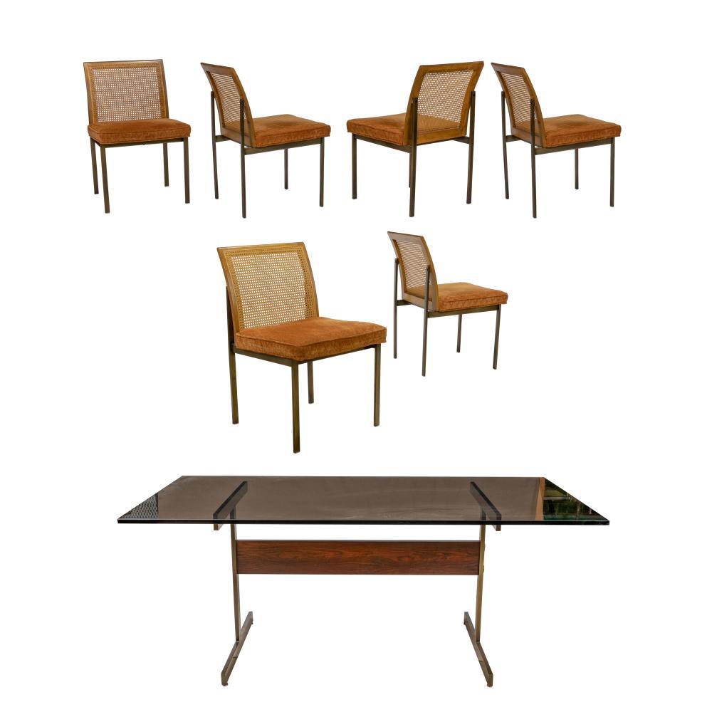 Milo Baughman - Lane - Rosewood Dining Set