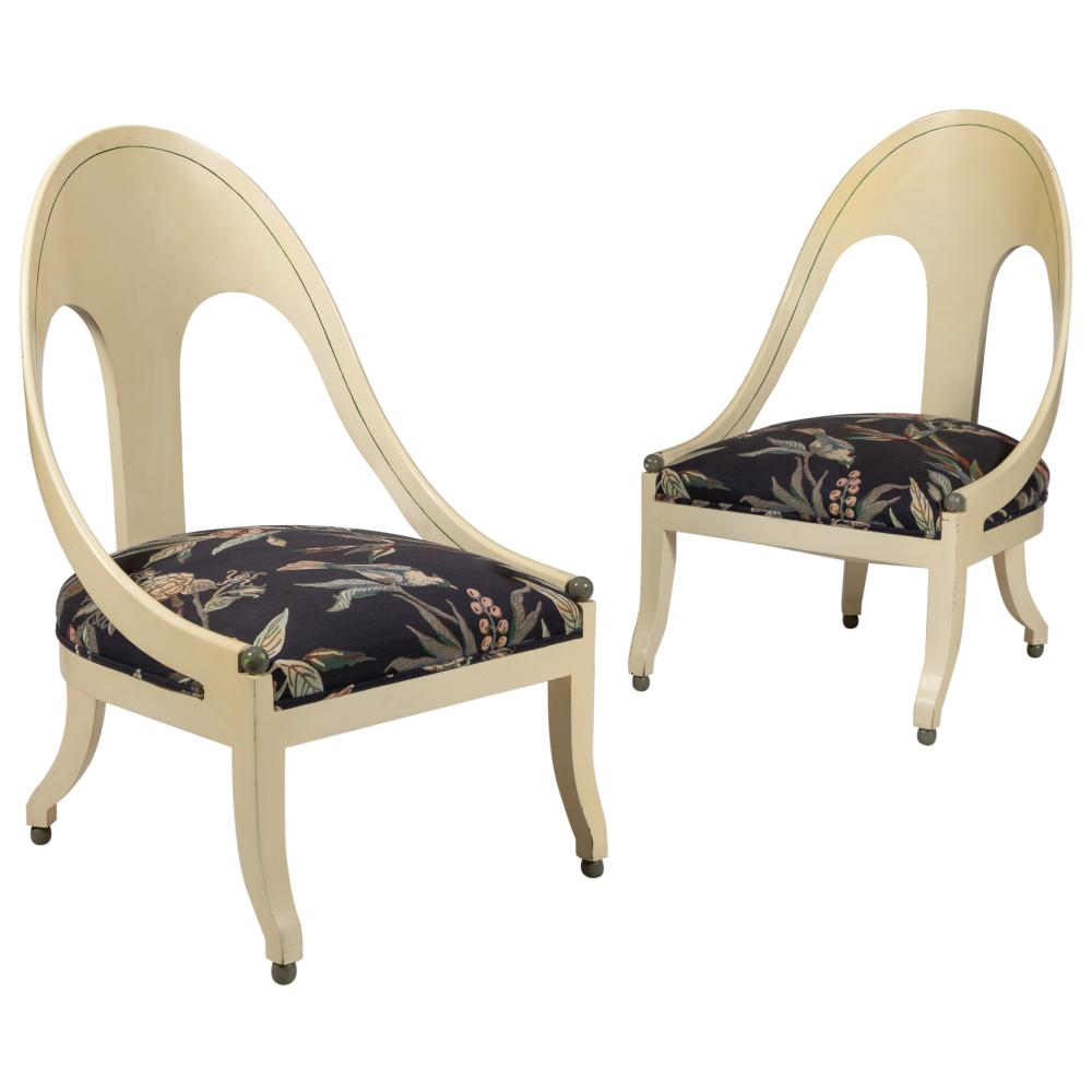 Michael Taylor - Baker - Spoon Chairs