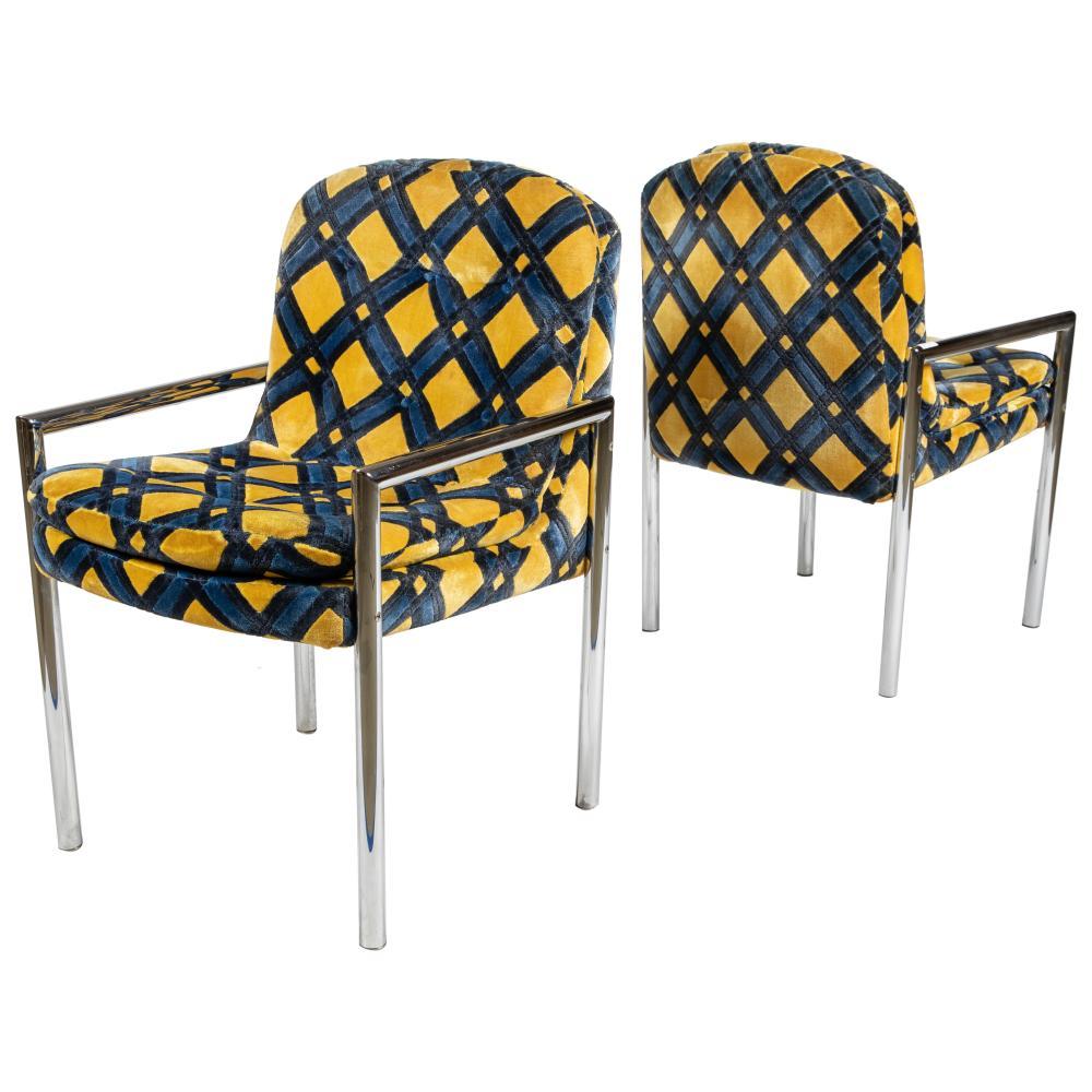 Harvey Probber (Attr) - Chrome Arm Chairs