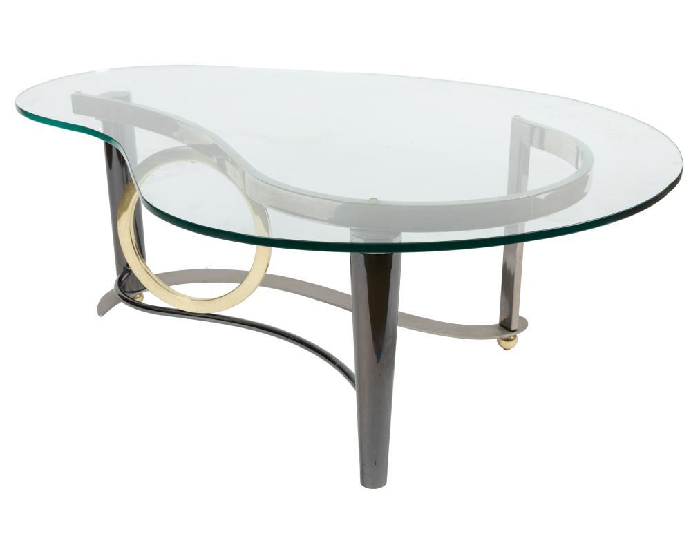 Kaizo Oto - DIA - Steel & Brass Coffee Table