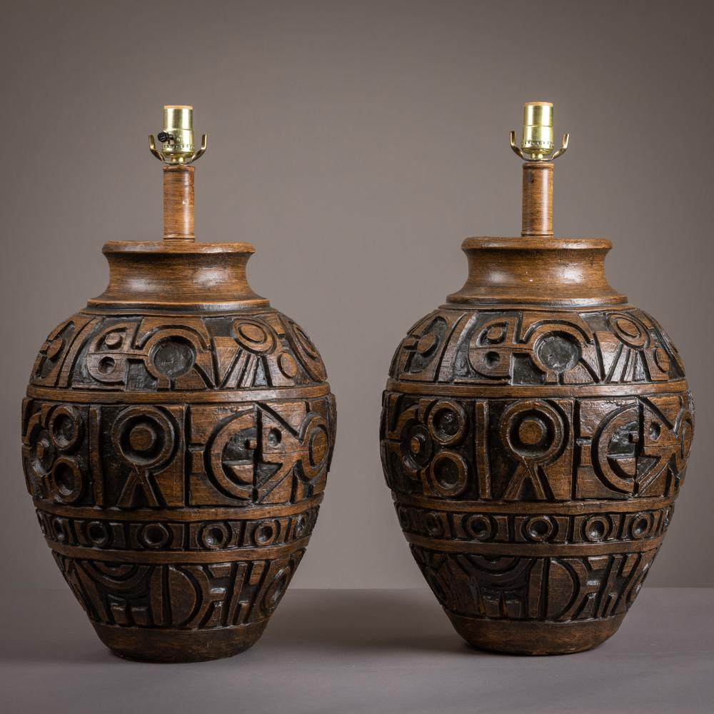 Pottery Lamps