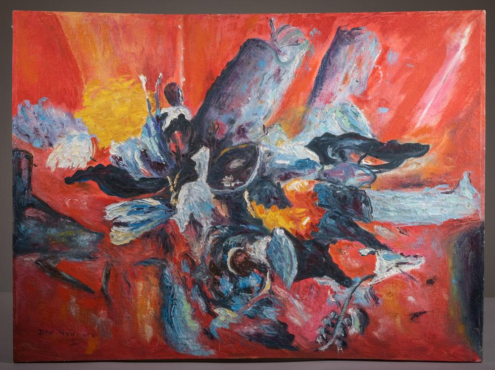 Abstract - Oil on Canvas