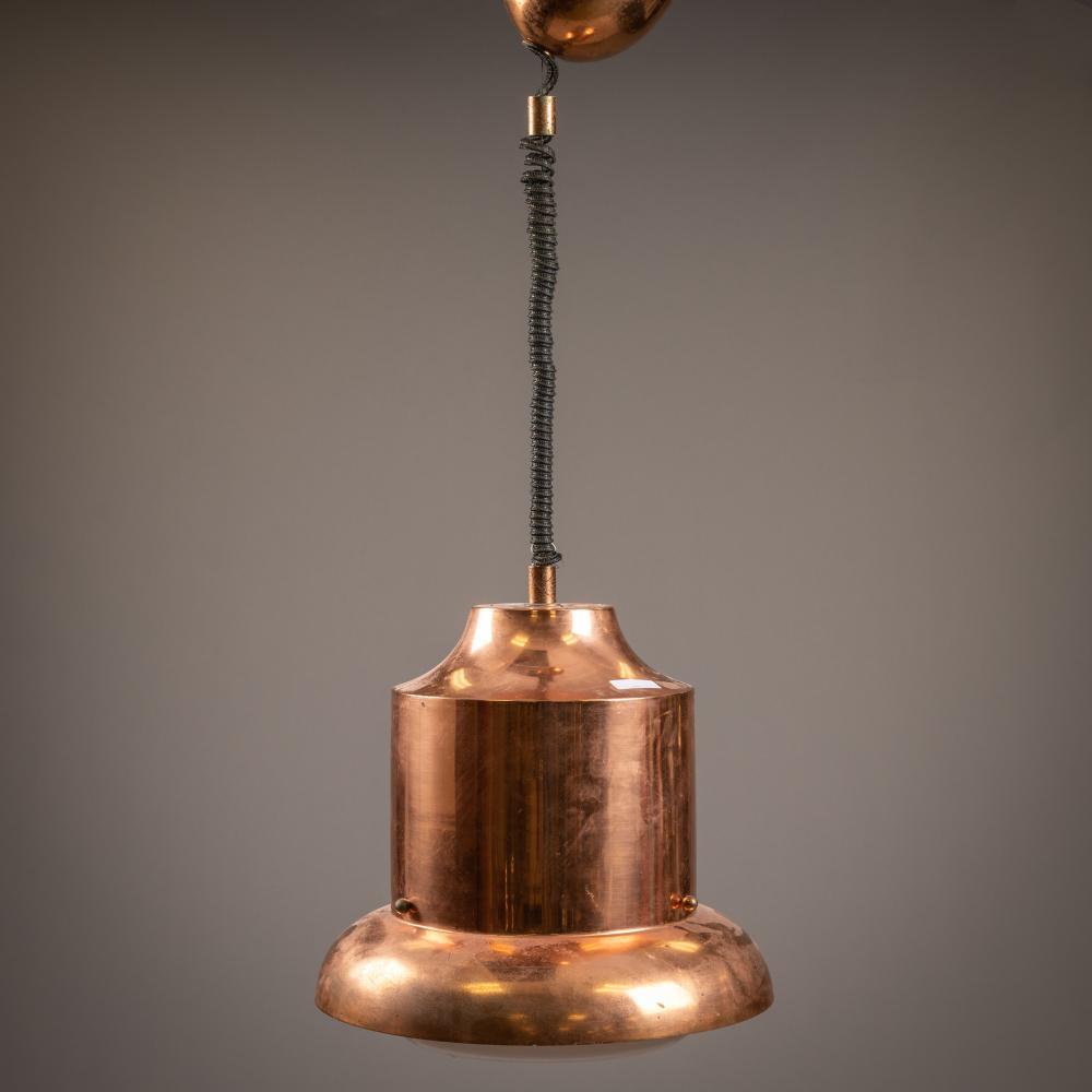 Copper Hanging Ceiling Fixture