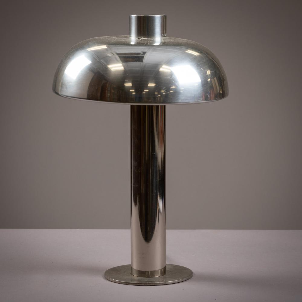 Pierre Cardin Style - Chrome Mushroom Lamp