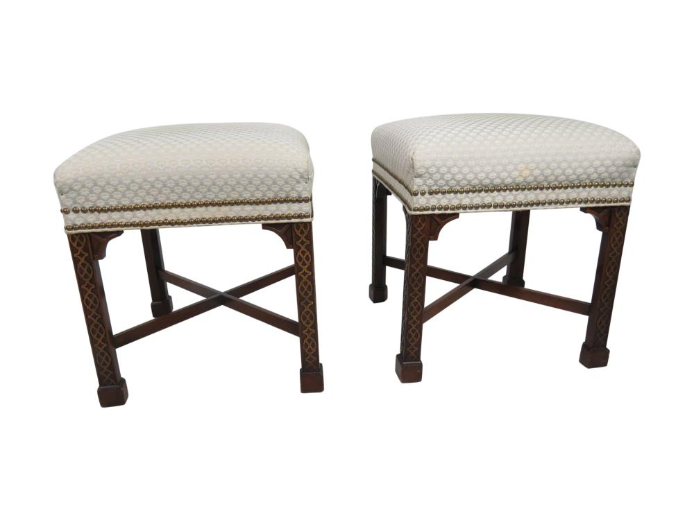 W & J Sloane - Mahogany Benches