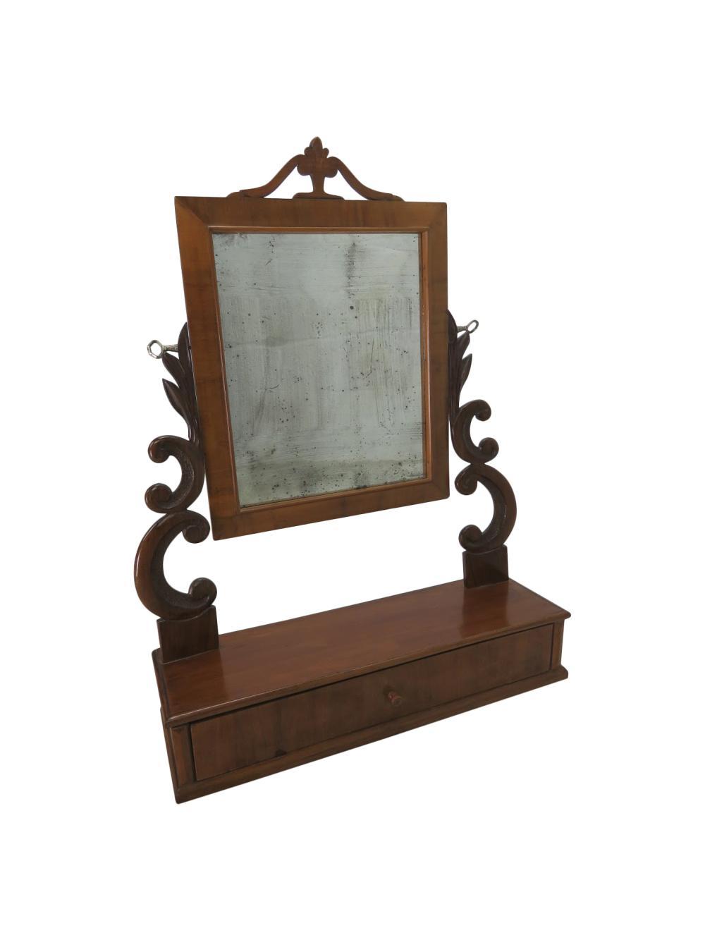 Victorian Style Shaving Mirror