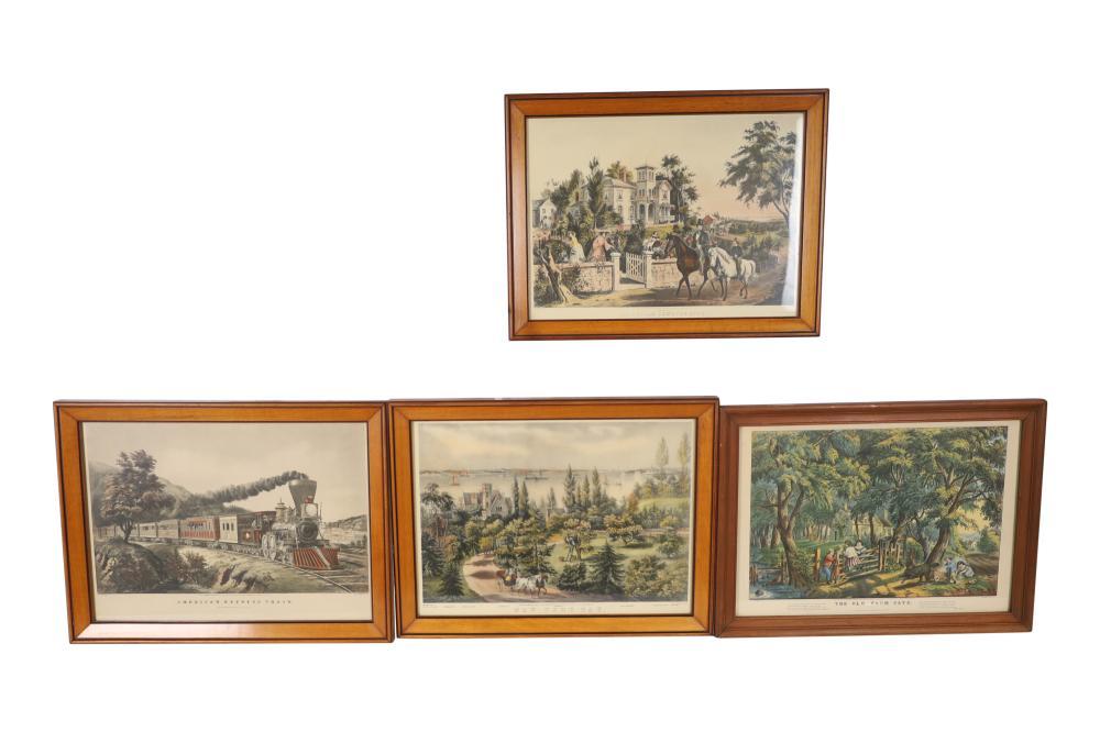 Currier & Ives Prints - 4