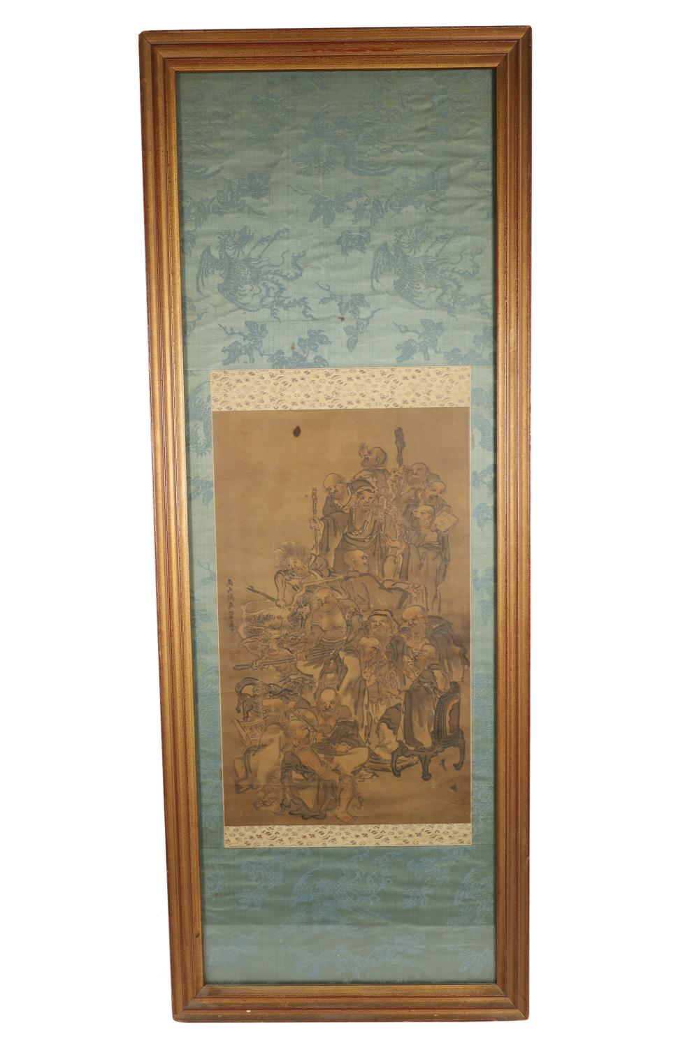 Japanese Painting of Monks
