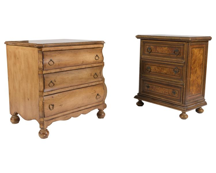 French Style Diminutive Chests - Two