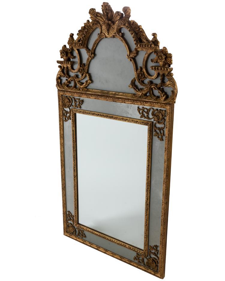 Carved Italian Mirror