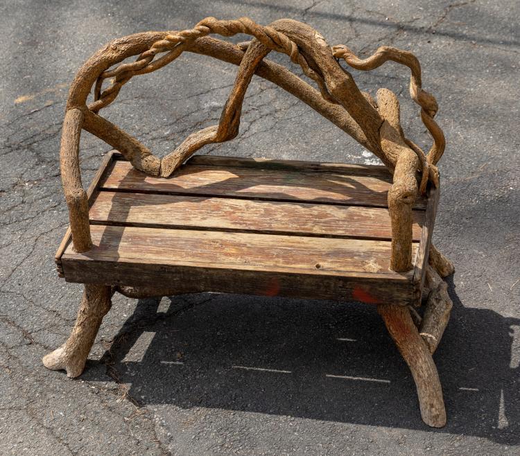 Adirondack Tree Form Bench