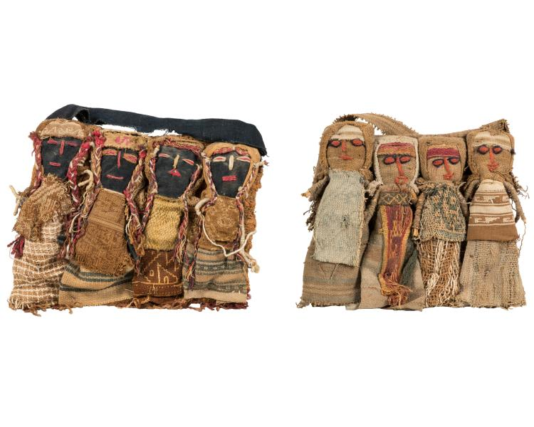 Primitive African Stitched Figures